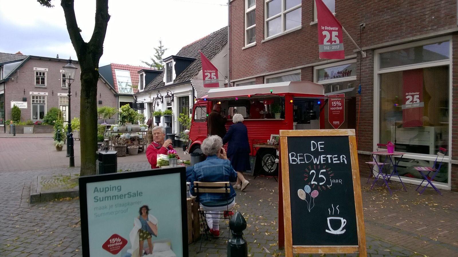Streetbarista Citroen Hy koffie op locatie