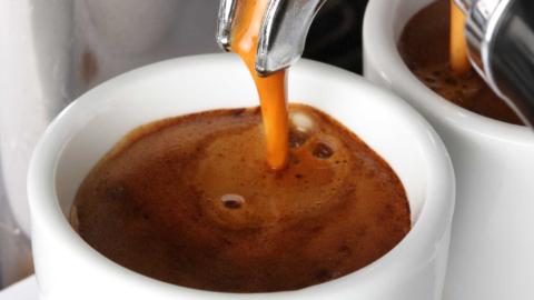 espresso in espressokop